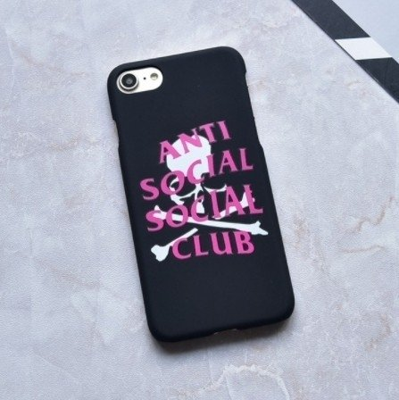 cases anti social club - XIAOBOX SHOP