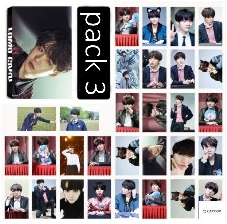 LOMO CARD Suga - XIAOBOX SHOP
