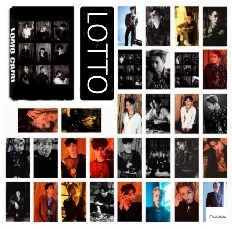 LOMO CARD EXO - XIAOBOX SHOP