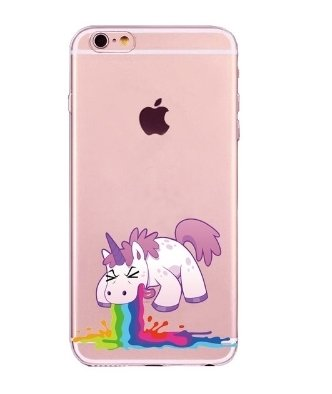 Cases Funny Unicorn - XIAOBOX SHOP