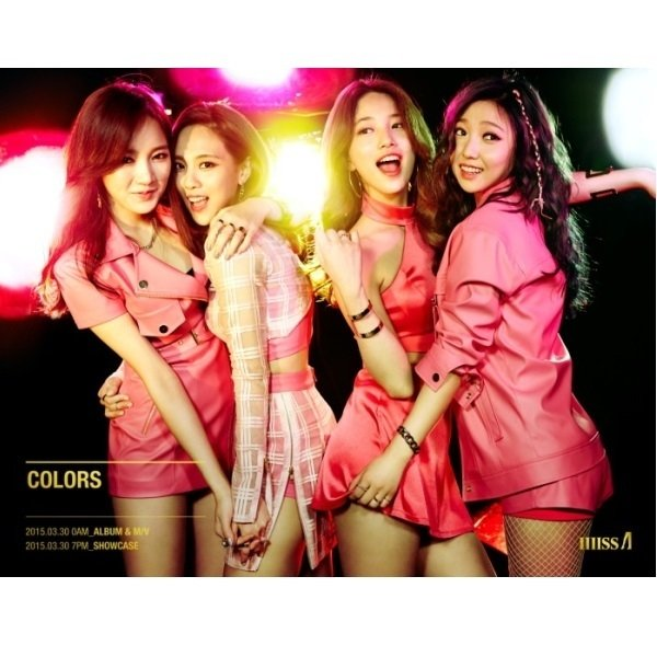 MISS A - THE 7TH PROJECT [COLORS]