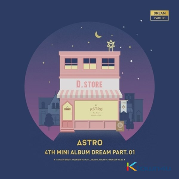 ASTRO - DREAM PART.01 (NIGHT VER.)