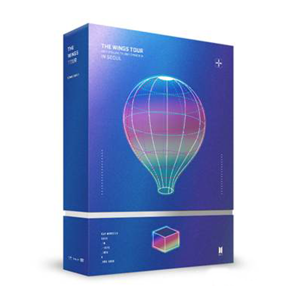 BTS [DVD ou Blu-ray] - Live Trilogy EPI -SODE III THE WINGS TOUR in Seoul