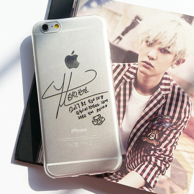 Case Chanyeol Autográfo