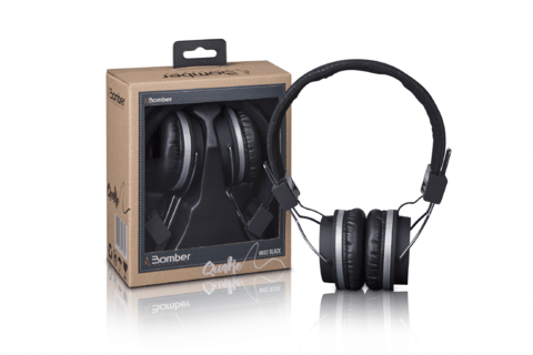 HEADPHONE BOMBER QUAKE HB11 BLUETOOTH - Bomber Shop