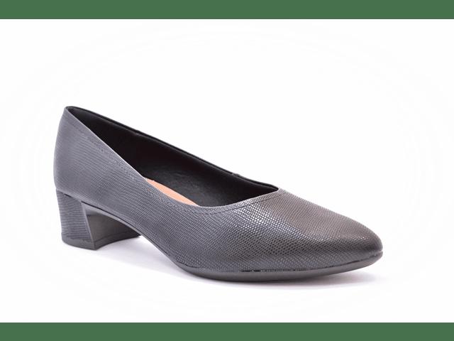 6c972a429 Sapato Feminino Tamanho Grande Bico Fino Usaflex Preto Numeração Especial 40,  41 e 42