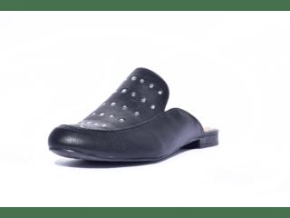 b5389f7f0 Sapato Feminino Tamanho Grande Mule Renata Della Vecchia Preto Numeração  Especial 40, 41 e 42