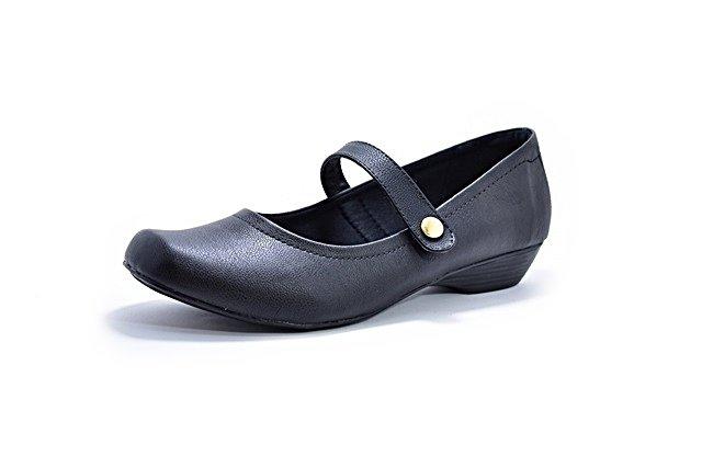 ab344d3fc7e Sapato Feminino Tamanhos Grandes Salto Baixo Boneca Renata Della Vecchia  Numeração Especial 40