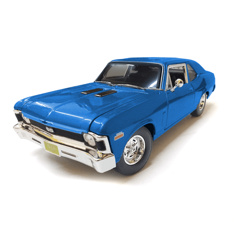 Auto De Coleccion A Escala 1/18 Chevy Nova SS Coupe