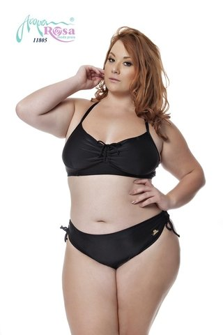 Conjunto Plus Size Acqua Rosa - Black
