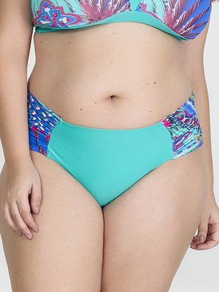 Calcinha Plus Size Acqua Rosa - Liberty