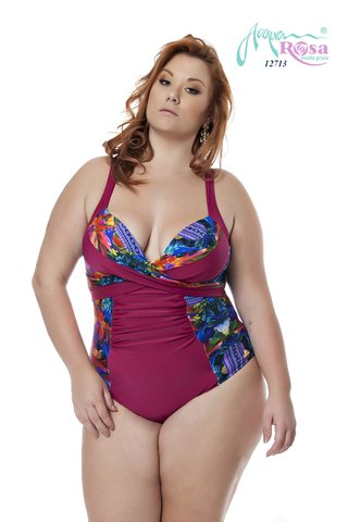 Maiô Plus Size Acqua Rosa - Match