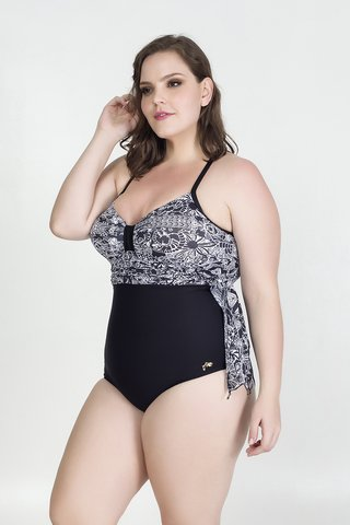 Maiô Plus Size Acqua Rosa - Work