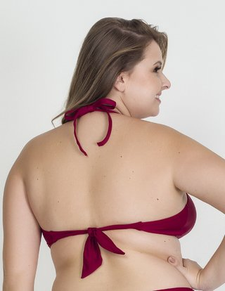 cropped plus size acqua rosa 2652