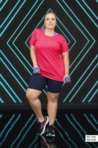Bermuda Plus Size Estilo do Corpo - Walk