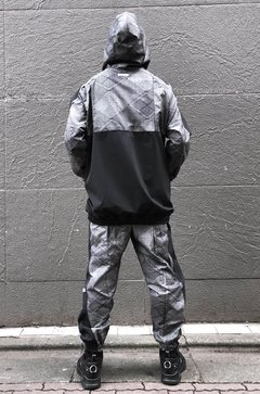 Silver Set- Hoodie and Pant - GRI3CO