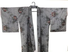 パンツ Flower Pant -Made from Japanese kimono on internet