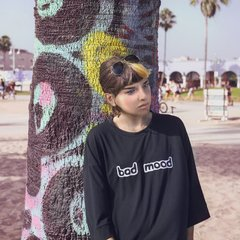 Remera -BAD MOOD- Nicole Ruggiero + GRI3CO en internet