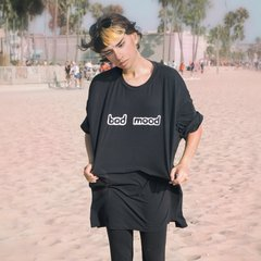 Remera -BAD MOOD- Nicole Ruggiero + GRI3CO - comprar online
