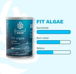 FIT ALGAE - OCEAN DROP 240 CAPS - comprar online