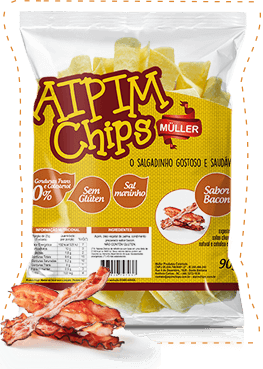 Aipim Chips 90gr Bacon