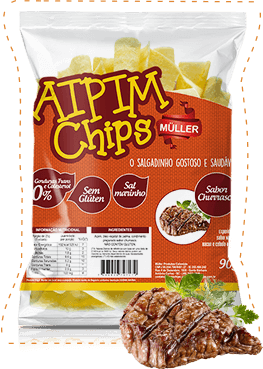 Aipim Chips 90gr churrasco
