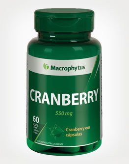 CRANBERRY - 550mg 60CAPS MACROPHYTUS