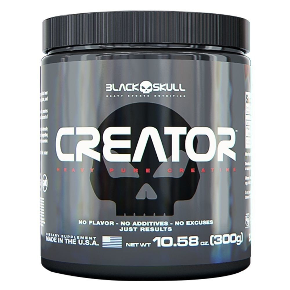 CREATINA CREATOR 300G – BLACK SKULL