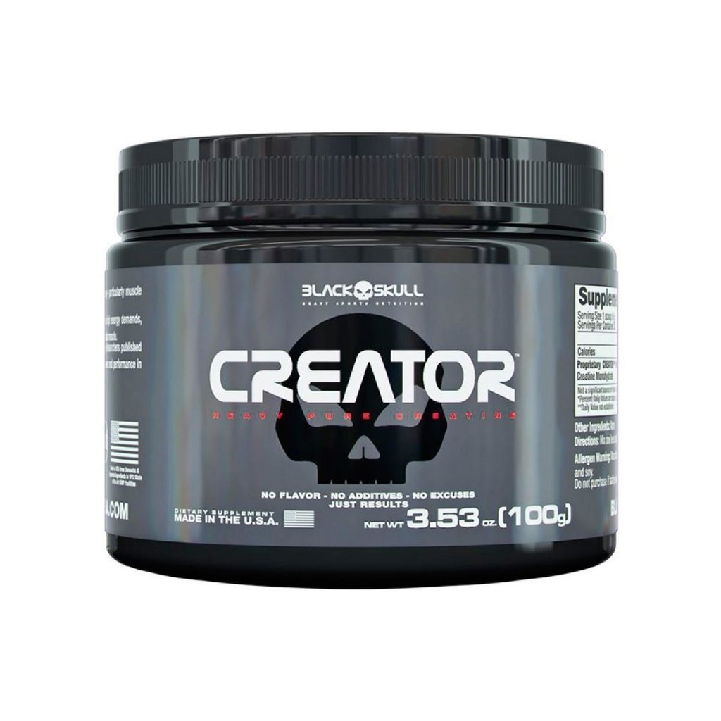 CREATINA CREATOR 100G – BLACK SKULL