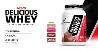DELICIOUS WHEY 900g  BODYACTION na internet