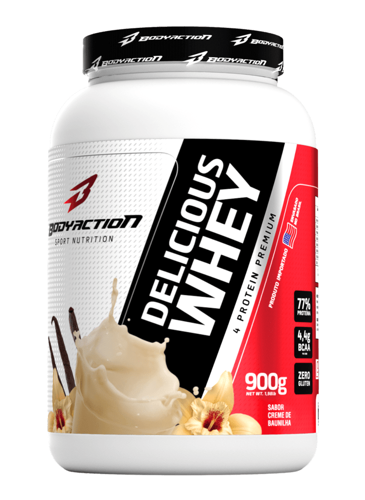 DELICIOUS WHEY 900g  BODYACTION