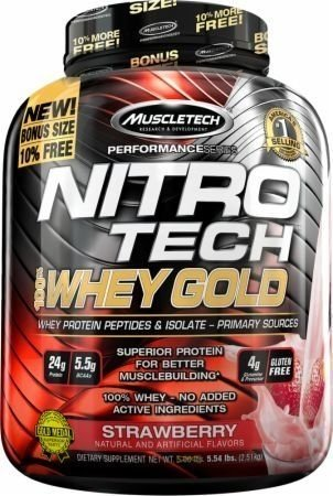 NITRO TECH WHEY GOLD 999G - MUSCLETECH - Vida Natural