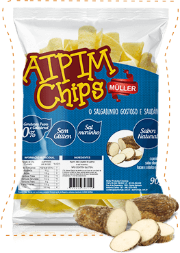 Aipim Chips 90gr natural