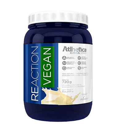 PROTEÍNA VEGETAL REACTION VEGAN 720G - ATLHETICA