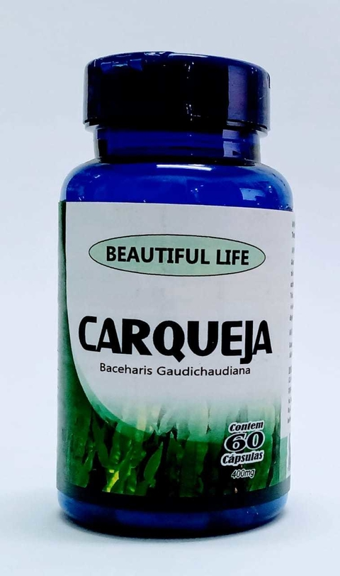 Carqueja 400mg 60 cap Beautiful Life