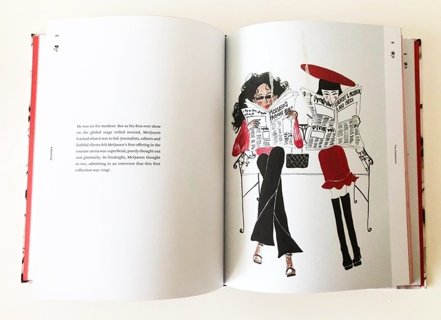 Alexander McQueen: The Illustrated Story - Rizzoli - Le Book Marque