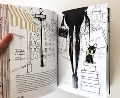 PARIS Through a Fashion Eye by Megan Hess - Chronicle - Le Book Marque