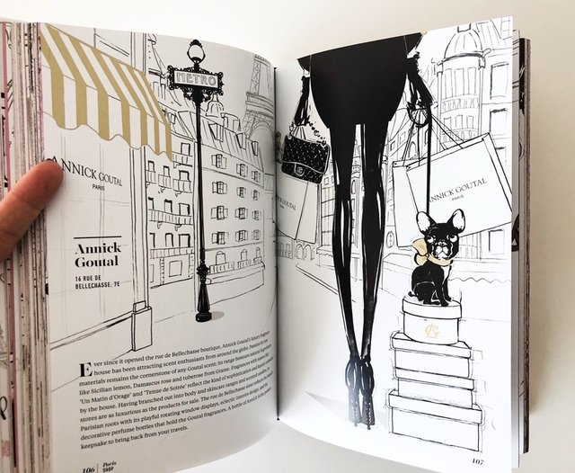PARIS, Through a Fashion Eye - Megan Hess - Le Book Marque