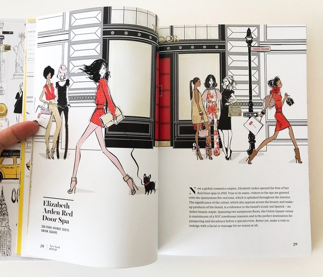 NEW YORK, Through a Fashion Eye - Megan Hess - Le Book Marque