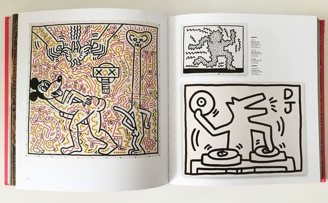 KEITH HARING - Rizzoli - Le Book Marque