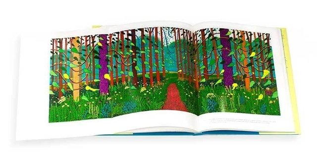 DAVID HOCKNEY - A Bigger Exhibition - Fine Arts Museum of San Francisco en internet
