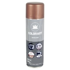 TINTA SPRAY METÁLICA ROSE GOLD 300ML I COLORART - comprar online