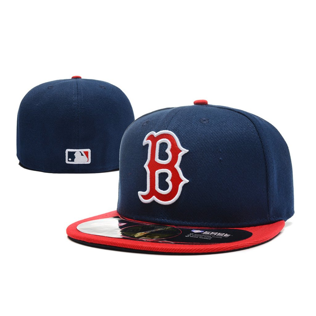 Gorra cerrada New Era Snapback Boston Redsox (Replica)