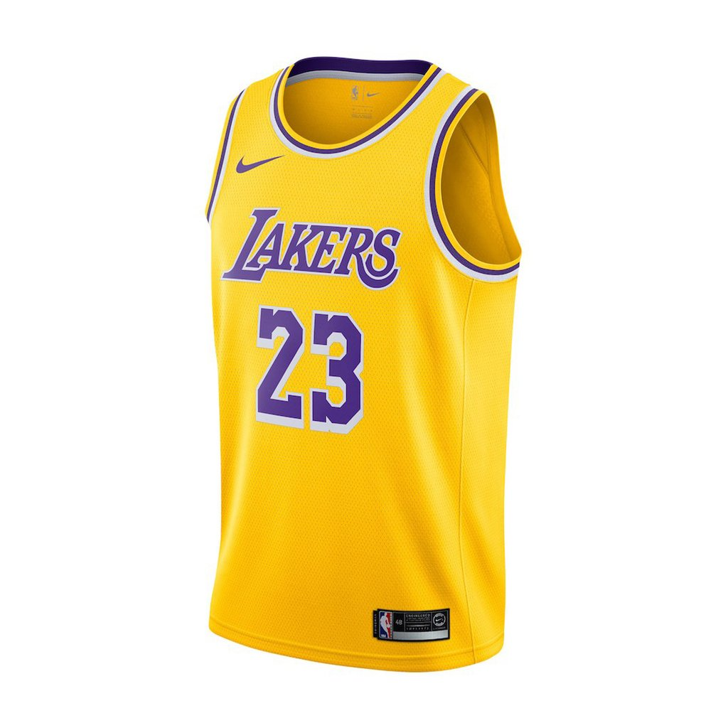Camiseta NBA Nike swingman Los Angeles Lakers (Lebron James) - comprar online