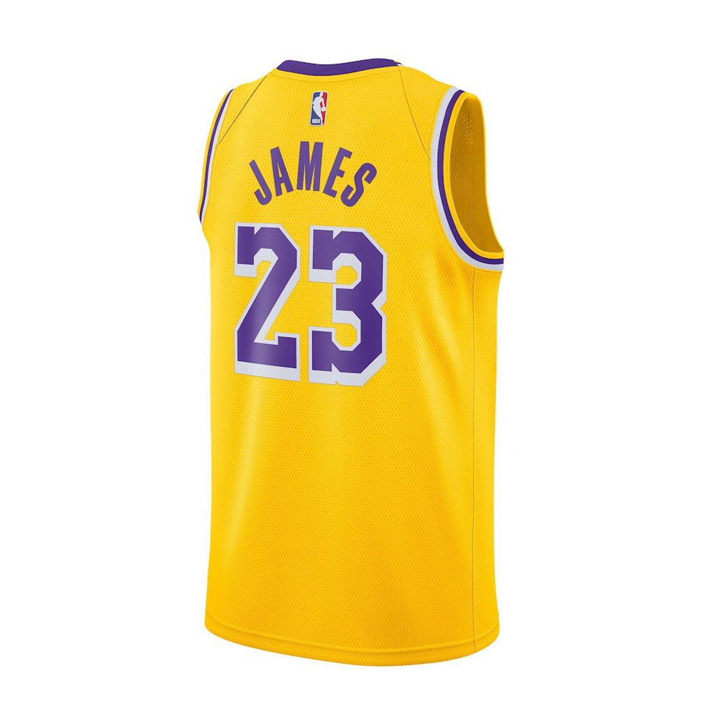 Camiseta NBA Nike swingman Los Angeles Lakers (Lebron James) en internet