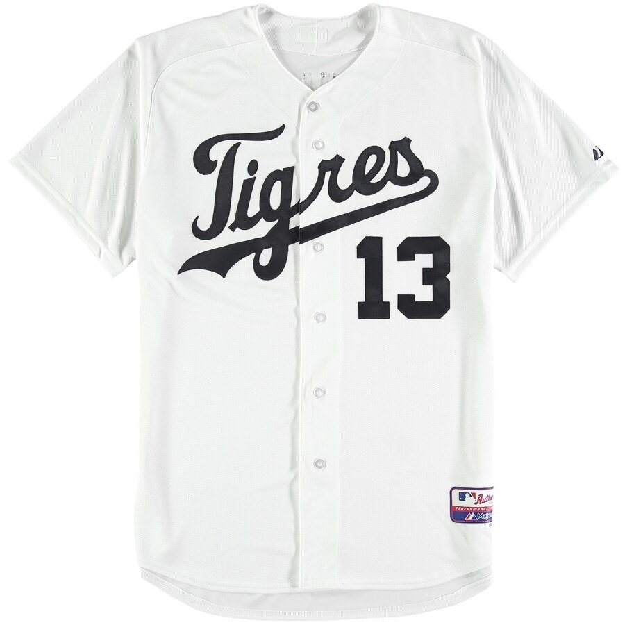 Camiseta MLB Majestic Cool Base (Detroit Tigers) - comprar online