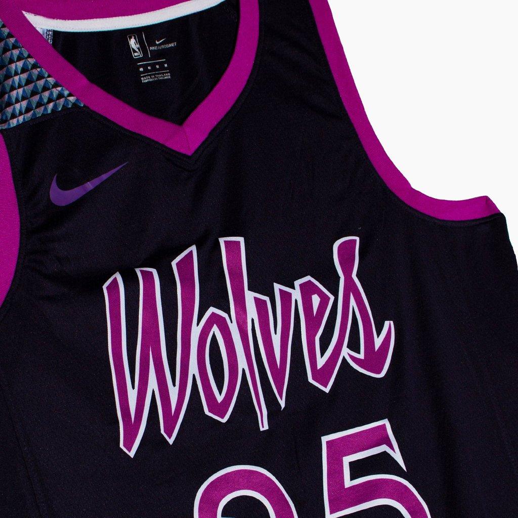 newest collection 035f3 702a9 Camiseta NBA Nike swingman City Edition Minnesota ...