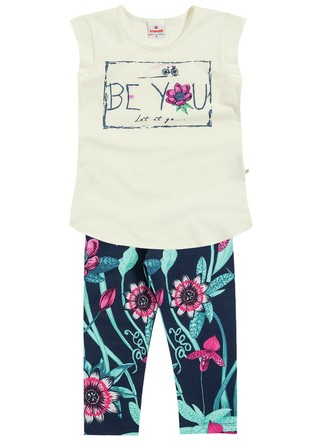 Conjunto Brandili Blusa Be You e Legging Preta Florida