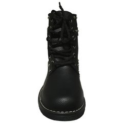 Borcego Eco Cuero Negro Tachitas Art6003 en internet