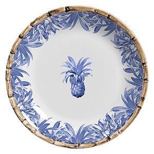 Prato Raso Abacaxi Azul Royal Maison Blanche cdfe72a2191ca